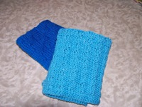 Knitted Cotton Wash Cloths