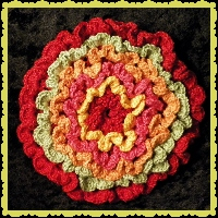 #Flopotcro Flower Power Brightly Pettled Pot Holder