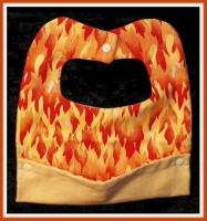 Flaming Baby Bib