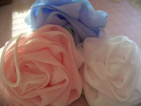Pink Rose Scrubbers